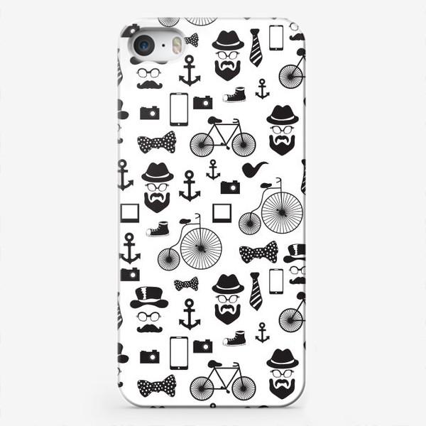 Чехол iPhone «Хипстер-стайл»