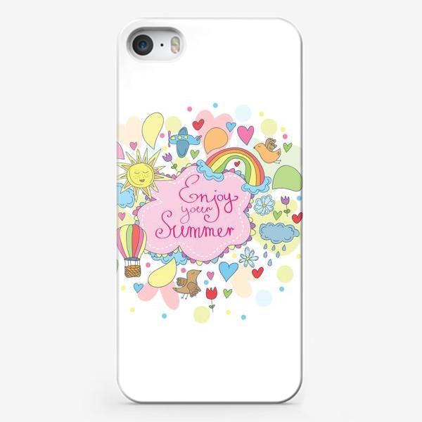 Чехол iPhone «Наслаждайся летом»