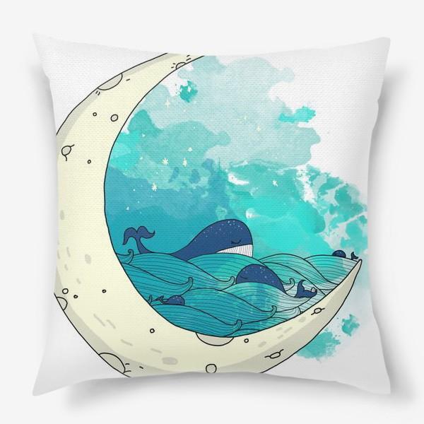 Подушка «Китовая сказка 2»