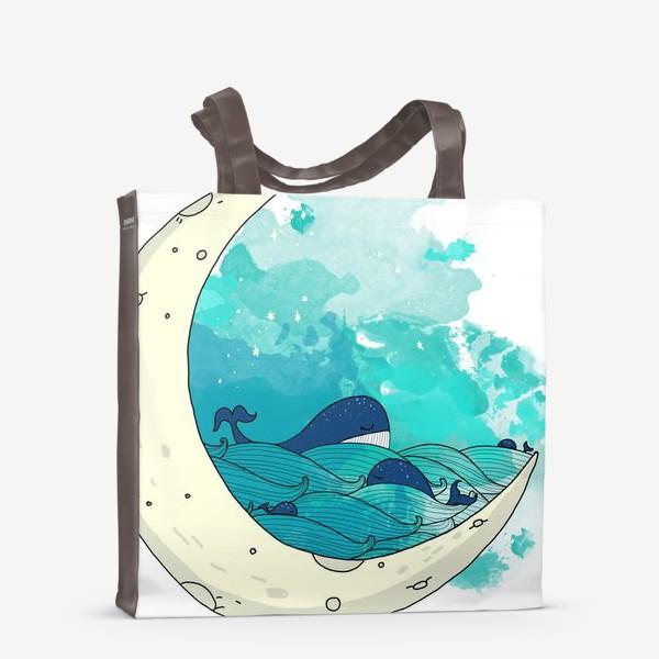 Сумка-шоппер «Китовая сказка 2»