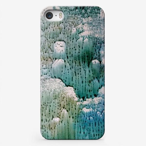 Чехол iPhone «Абстракция Зимняя история»