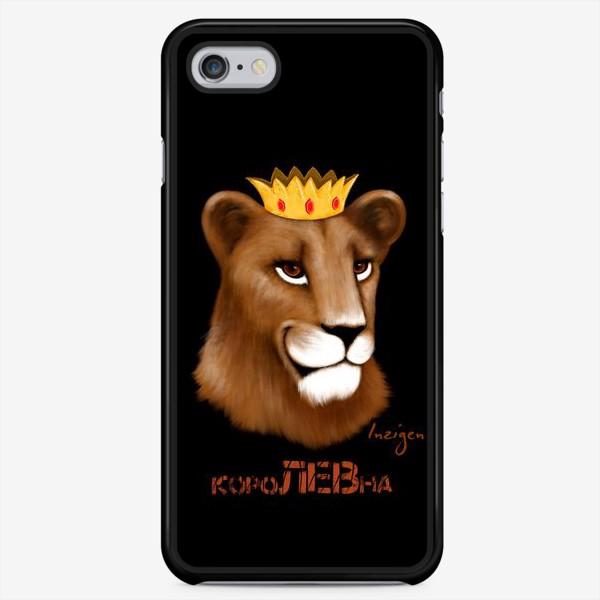 Чехол iPhone «короЛЕВна (на черном)»