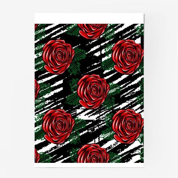 Постер «Красные розы.»