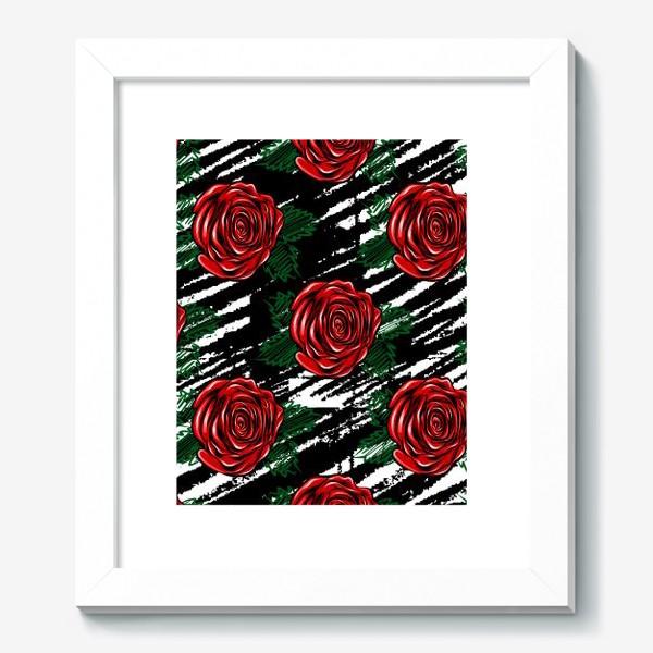 Картина «Красные розы.»