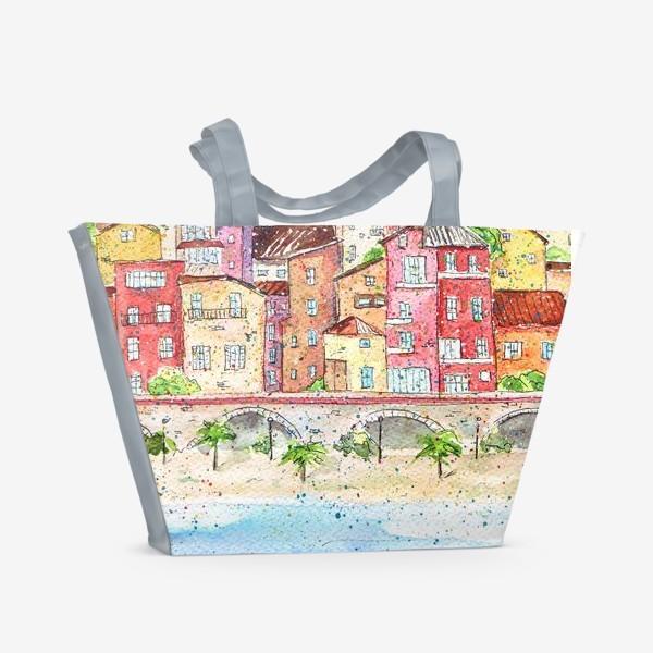 Пляжная сумка «Италия»