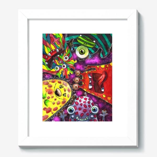 Картина «Смешные инопланетяне»