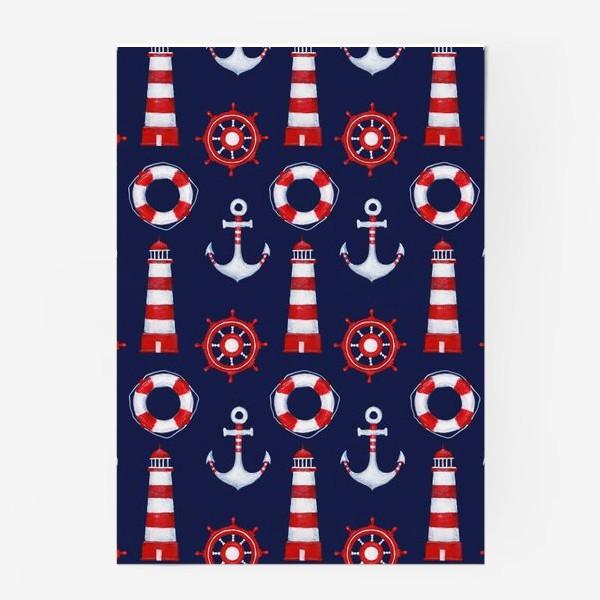 Постер «Морской паттерн»