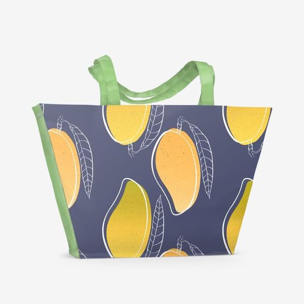 Пляжная сумка «Сладкое манго»
