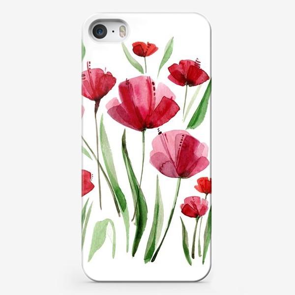 Чехол iPhone «Маки »