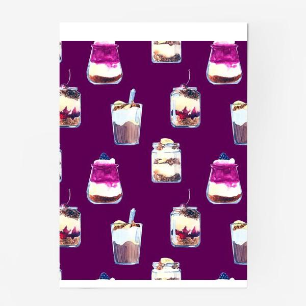Постер «десерты»