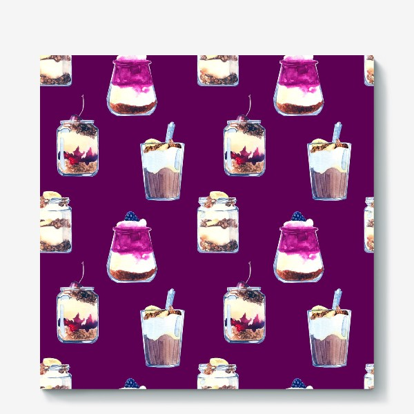 Холст «десерты»