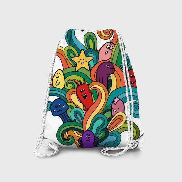 Рюкзак «Веселые монстры»