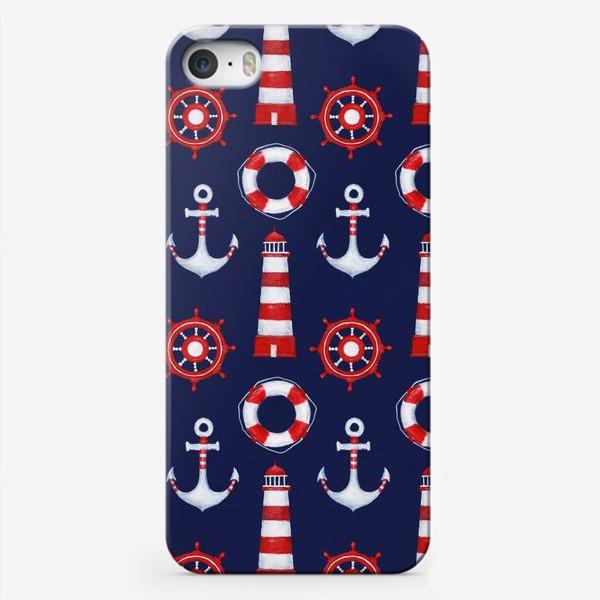 Чехол iPhone «Морской паттерн»