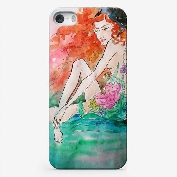Чехол iPhone «дева в траве»