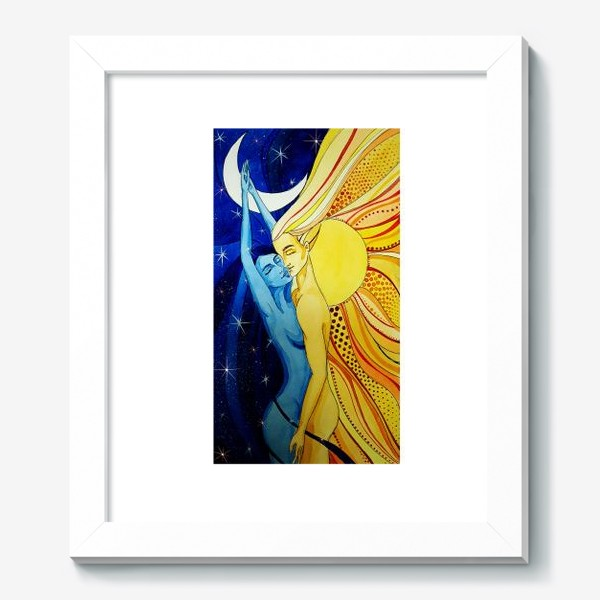 Картина «Солнце и Луна»