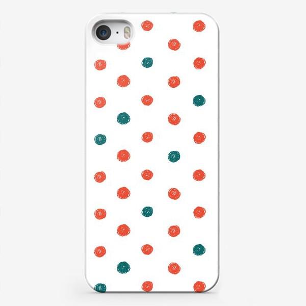 Чехол iPhone «В горошек »