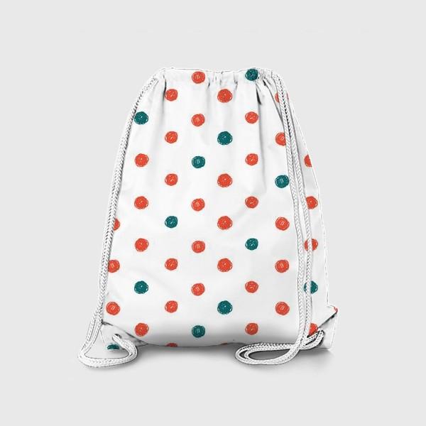 Рюкзак «В горошек »