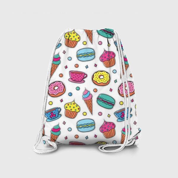 Рюкзак «Вкусный паттерн»