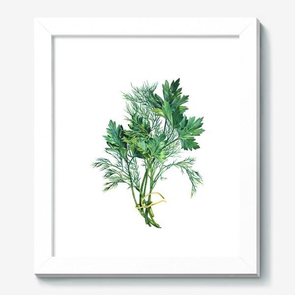 Картина «Свежая зелень»