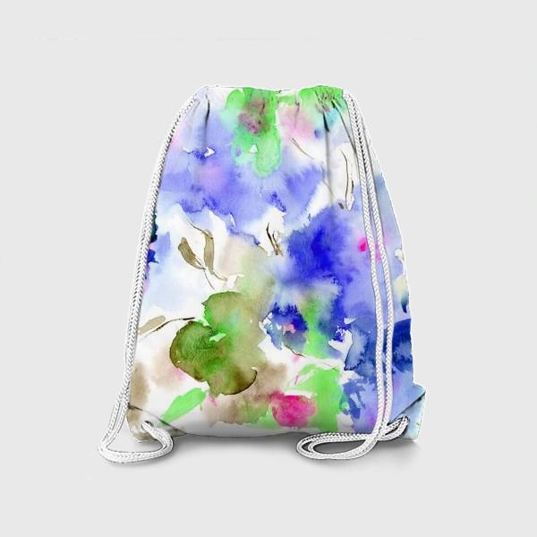 Рюкзак «Акварельные цветы»