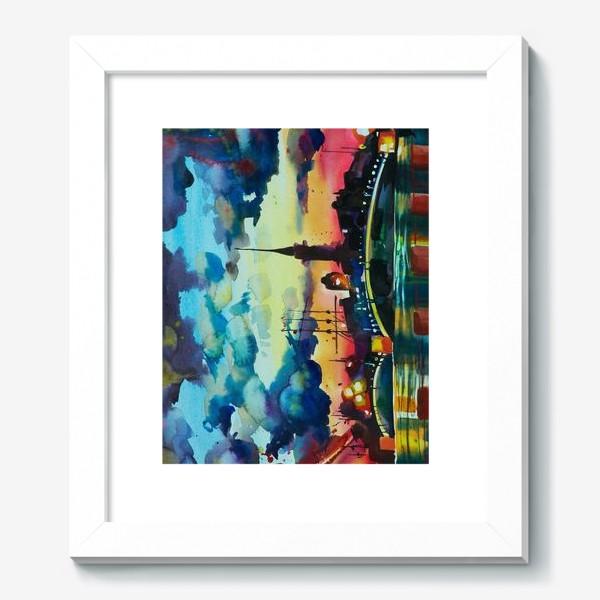 Картина «Петропавловская крепость, акварель»