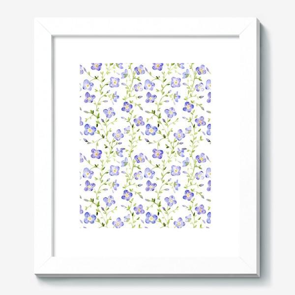 Картина «Паттерн Нежные цветы»