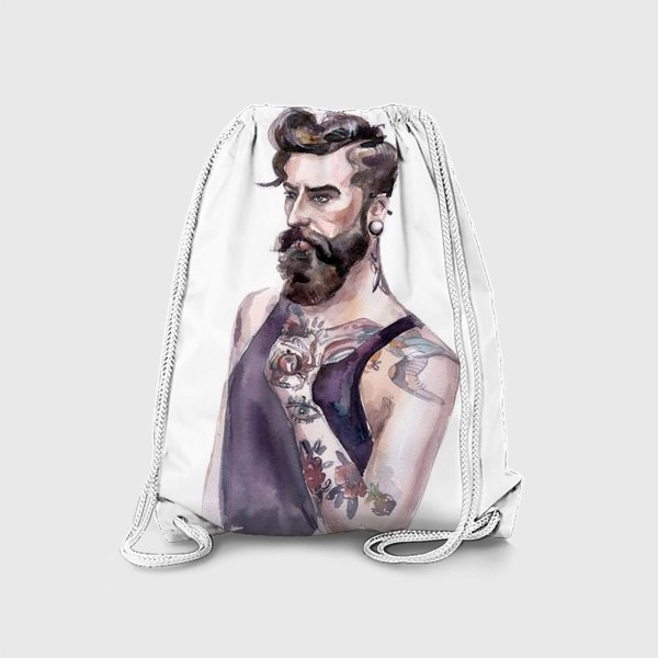 Рюкзак «Борода и татуировка»