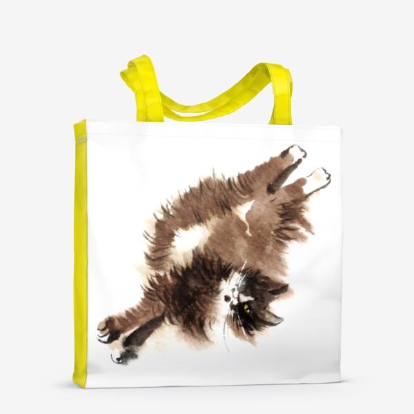 Сумка-шоппер «Кошка Фяо»