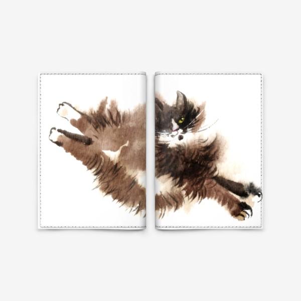 Обложка для паспорта «Кошка Фяо»