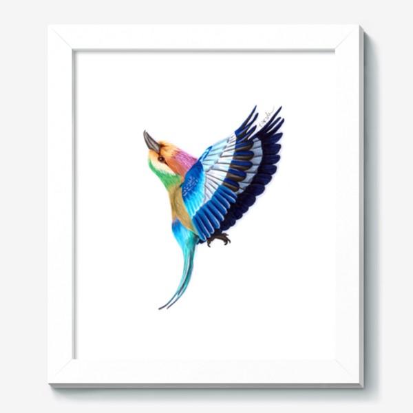 Картина «Птица сизоворонка»