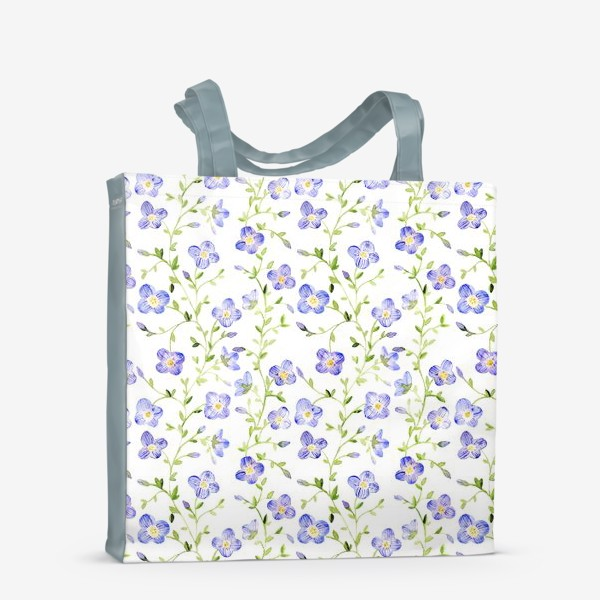 Сумка-шоппер «Паттерн Нежные цветы»