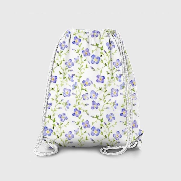 Рюкзак «Паттерн Нежные цветы»