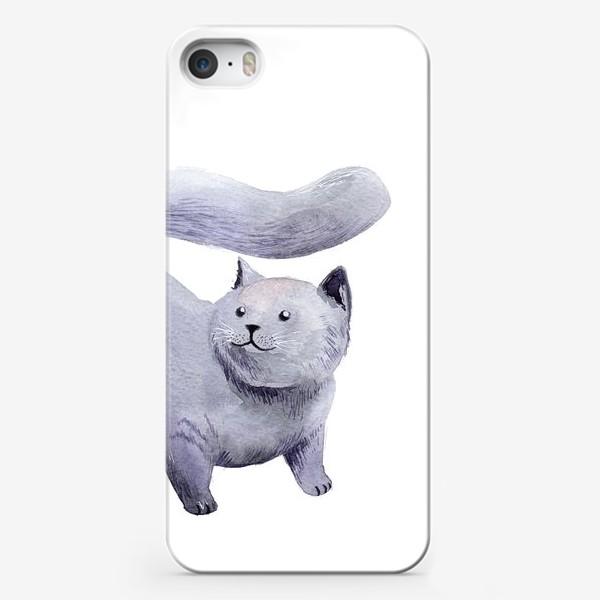 Чехол iPhone «Кот Прохор»
