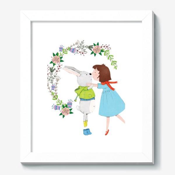 Картина «Весенний поцелуй»