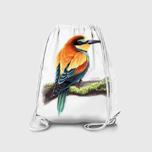 Рюкзак «Птица Щурка»