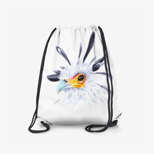 Рюкзак «Птица Секретарь»