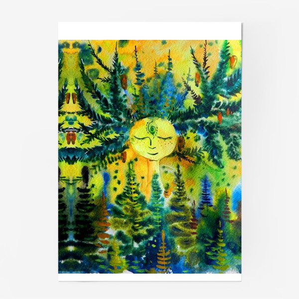 Постер «Дух летнего леса»