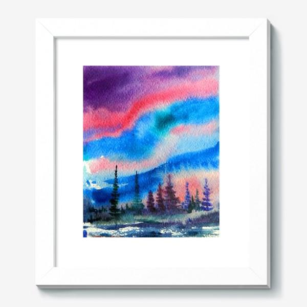Картина «северное сияние»