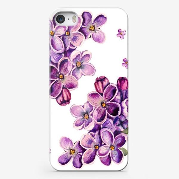 Чехол iPhone «Цветы сирени»