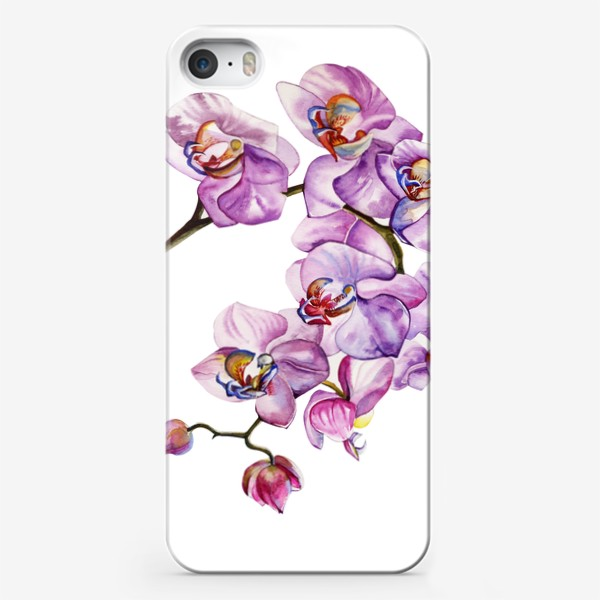 Чехол iPhone «орхидейка»