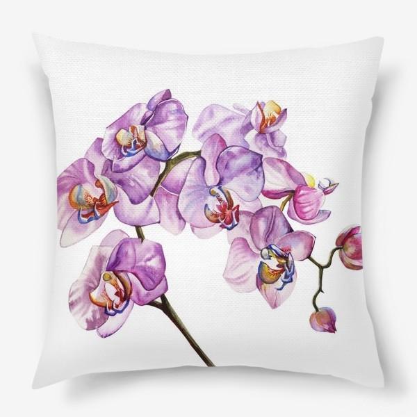 Подушка «орхидейка»