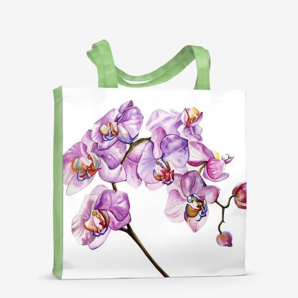 Сумка-шоппер «орхидейка»