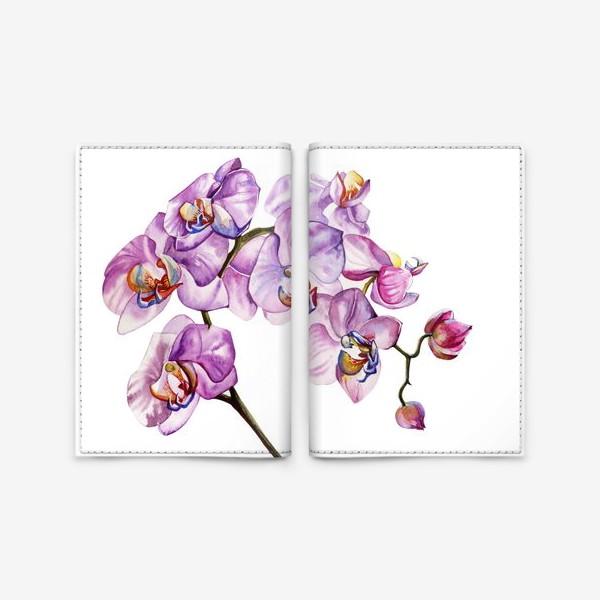Обложка для паспорта «орхидейка»