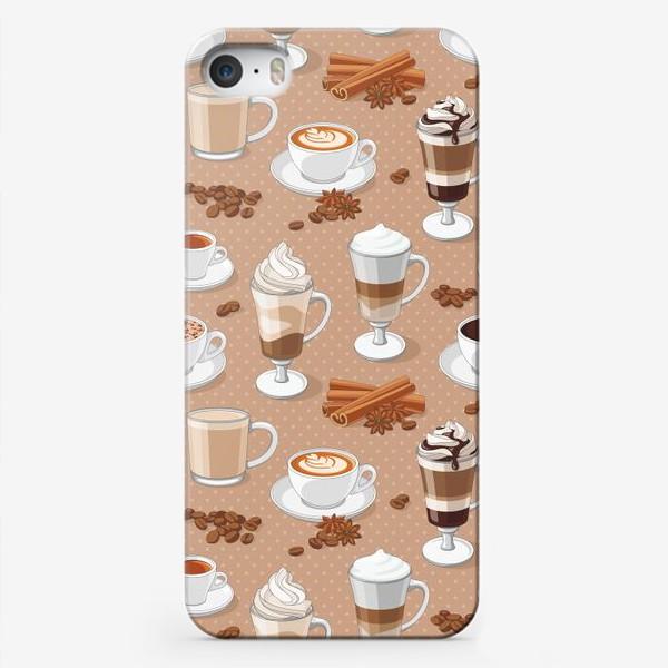 Чехол iPhone «Кофемания»