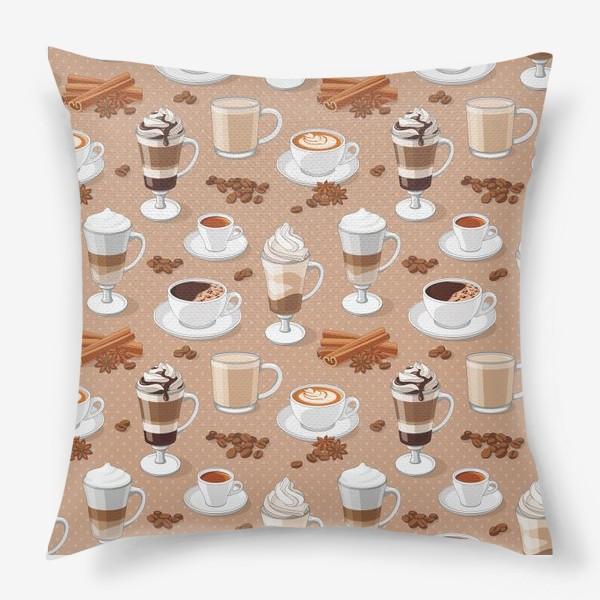 Подушка «Кофемания»