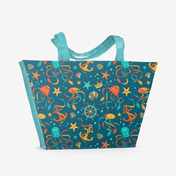 Пляжная сумка «Сокровища океана»
