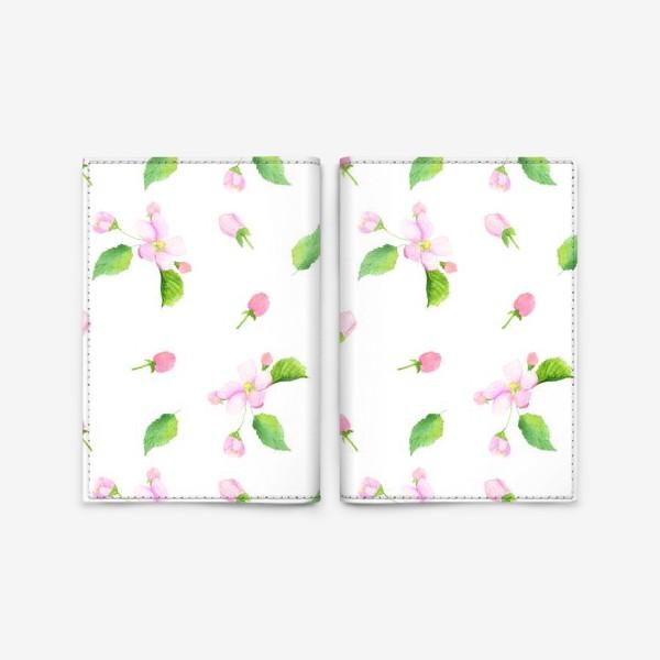 Обложка для паспорта «Яблоня»