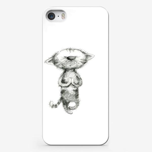 Чехол iPhone «Кото-йога»