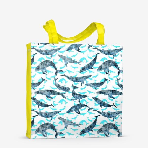 Сумка-шоппер «Whales»