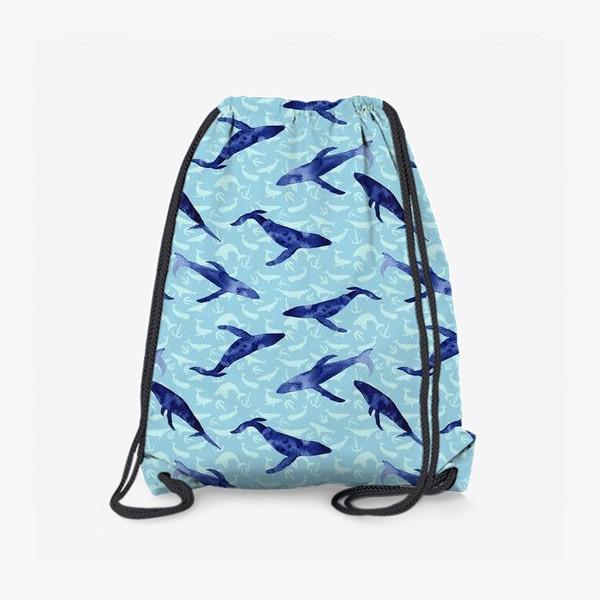 Рюкзак «Blue whales»